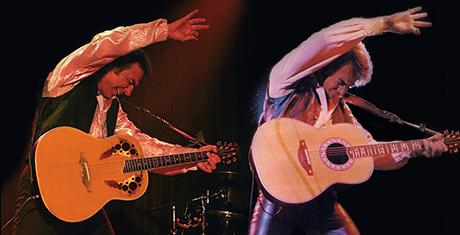 Jay White with Neil Diamond