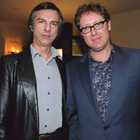 Jay White with James Spader